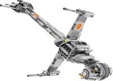 Lepines STAR space WARS B-Wing Starfighter Building Blocks Sets Bricks figures Kids Model Kids Toys