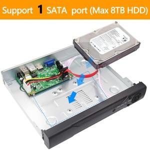 Image 5 - Камера видеонаблюдения H.265 +/H.264, 16 каналов * 5 МП, NVR, сетевая камера Vidoe с интеллектуальным анализом, 1080P/720P, IP, с кабелем SATA, ONVIF CMS XMEYE