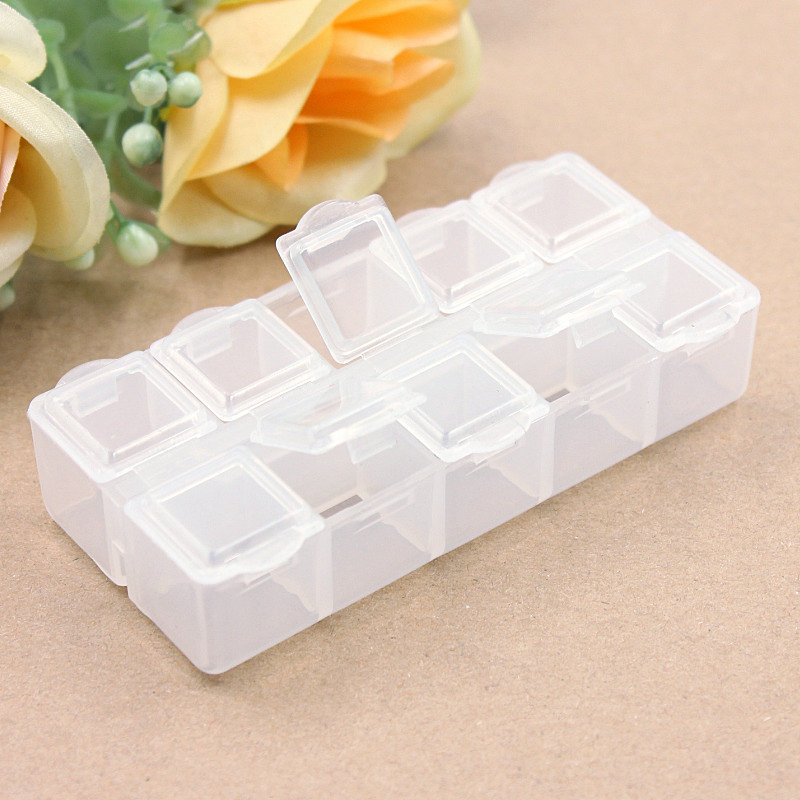 Jars Container Diy-Accessories Loose-Beads Electronic-Storage Small Fit 1pcs Bottles