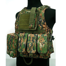 NEW A TACS FG Tactical FSBE AAV Assault Vest Kryptek SWAT Black Special Forces Airsoft taktische weste colete tatico militar