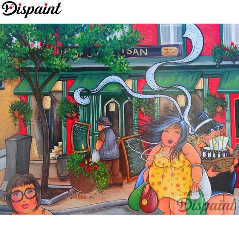Dispaint Completo Quadrado/Rodada Broca 5D DIY Pintura Diamante