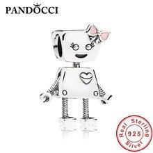 11bd434c2 PANDOCCI 100% 925 Sterling Silver 797141EN160 BELLA BOT CHARM European  Ladies Jewelry Original Manufacturers Wholesale