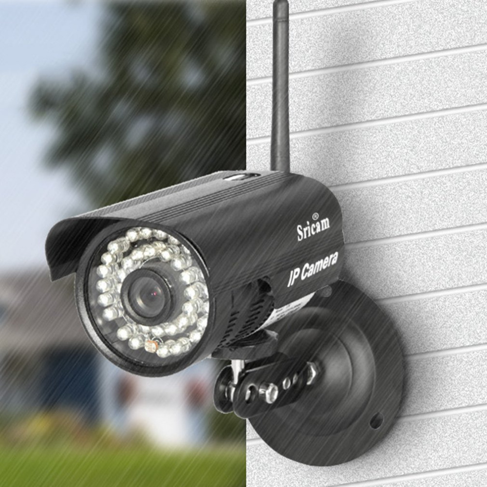 Outdoor And Home Used Wireless WiFi 720P HD IP Network CCTV Security Bullet Camera IR Night Vision Waterproof Webcam Free Ship outdoor 720p ip camera hd wireless wifi array ir night vision bullet onvif waterproof cctv security ip 1mp network web camera