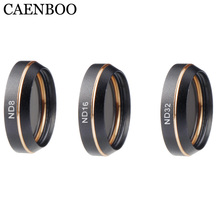 CAENBOO Drone Filters For DJI Mavic Air ND4 ND8 ND16 Neutral Density Filter Kit For DJI Mavic Air Camera Accessories 3PCS/Set