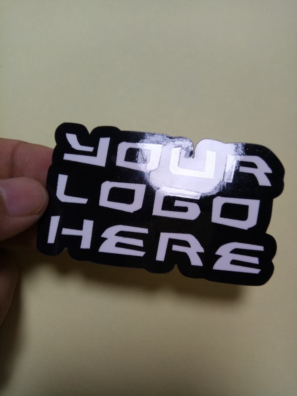 Custom printed waterproof die cut logo adhesive vinyl pvc sticker custom adhesive sticker printing custom sticker
