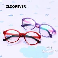 TR90 Silicone Flexible Kids Eyeglasses Frames Boy Girl Cute Optical Myopia Clear Brand Children Glasses Frame