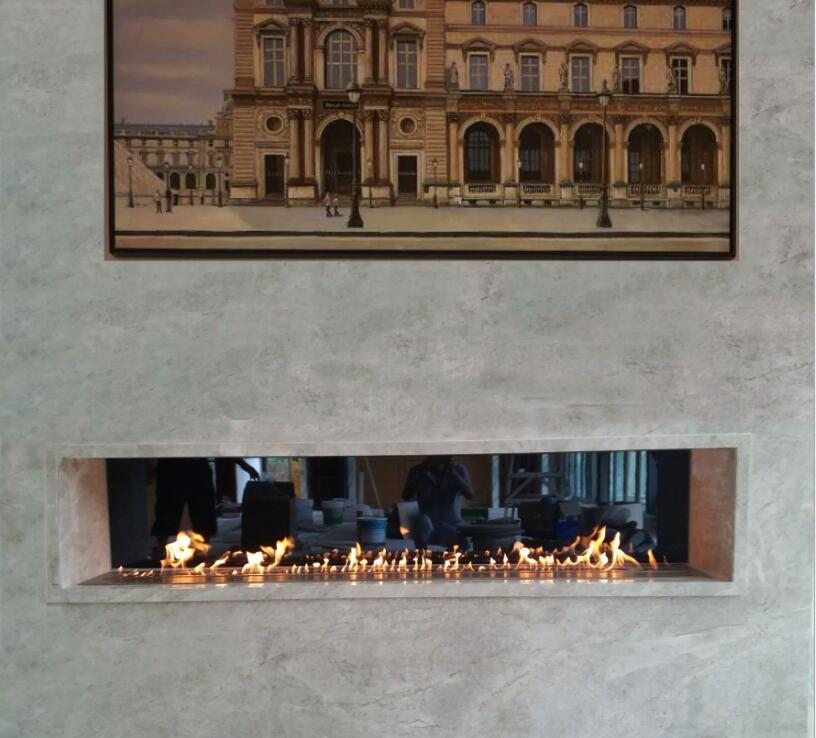 60 Inch Automatic Electric Intelligent Smart Bioethanol Linear Fireplace Insert