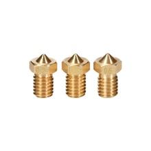 3D Brass Nozzle 0 2 0 25 0 3 0 4 0 5 0 6 0
