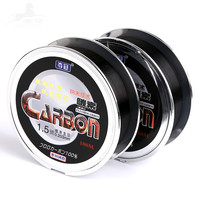 3 Pcs Lot High Quality Carbon Wire 100m Super Strength Wear Resistant Fishing Line Fishing Gear
