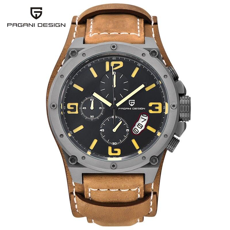 2016 PAGANI DESIGN Brand Unique Design Fashion Watches Men Dive 100M font b Sport b font