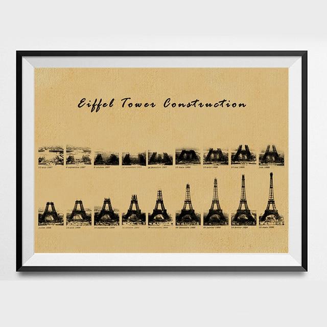 Paris Eiffe Tower Printable Shabby Chic Vintage Prints Poster Wall
