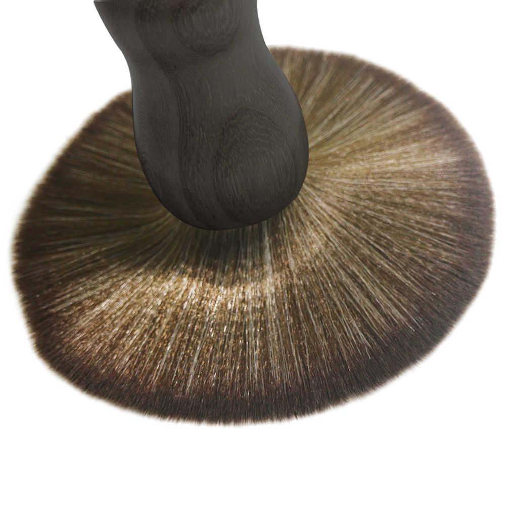 Домашнее использование для парикмахера профессиональная подметка для шеи метелка из мягкого меха деревянный салон ручка модная Очистка лица резка прочный