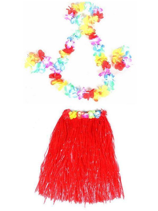 f285a2626f44 Wholesale 50 Sets Hawaiian Flower Lei Fower Bracelet Flower Headband, Fancy  Dress For Party Dancing Hula Luau Kids Free Shipping