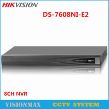 Hikvision 8CH NVR DS-7608NI-E2 Economic NVR for HD IP Camera CCTV System ONVIF HDMI Output With 2 HDD SATA English upgradable