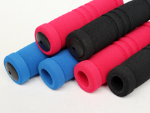 New Mountain Bike Bicycle Cycling Comfortable Soft Handlebar Grips Cover Foam Sponge Lock On Bicycle Accessories One Pair