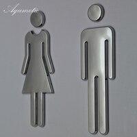 Aqumotic Girl Locker Room Sign Large 1pair Locker Room Sticker Male Sign Tool New Toilet Mark