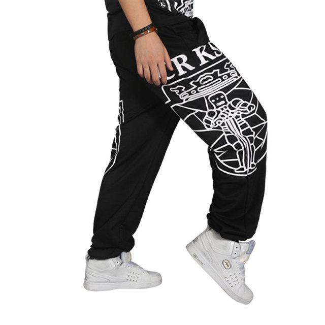 Hot Venda nova moda Primavera e verão maré masculino calças loosehip hop-hop roupas Frete Grátis