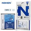 Nohon batería incorporada original para samsung galaxy s4 siv i9500 i9508 i9505 i9507v 2600 mah de alta capacidad batería con nfc