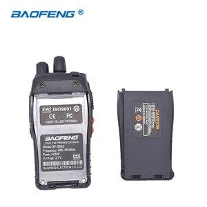 Image 5 - 2 قطعة Baofeng BF 888S اسلكية تخاطب راديو محمول 16CH UHF 400 470MHz اتجاهين ناقل موجات الراديو
