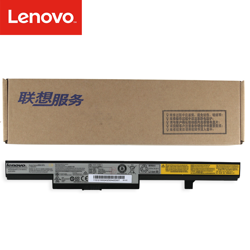 Original Laptop battery For Lenovo B50-70 B40-70 B50-30 B50-45 B40-30 B50 M4450 M4400 M4400A L13S4A01 L13M4A01 32WH L13L4A01 недорго, оригинальная цена