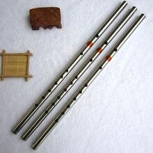 Флейта из нержавеющей стали традиционный музыкальный инструмент китайский Dizi как бамбуковая флейта в F ключ поперечный Flauta для начинающих