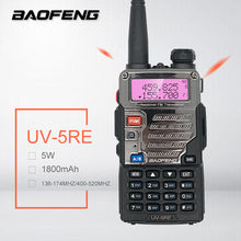 Baofeng UV-5RE 5W Walkie Talkie VHF UHF Ham CB Radio Amador HF Transceiver Scanner Radio Station Interphone PMR446 Updated UV5R(China)
