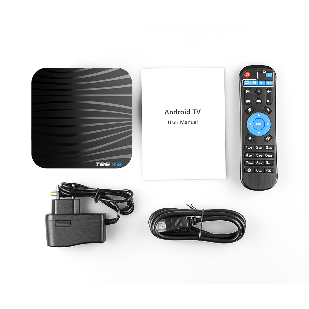 Image 5 - T95X2 Tv Box 4GB 32GB S905X2 Android 8.1 With 1 Year QHDTV Iptv Subscription French Arabic Morocco Belgium Netherlands Ip Tv Vod-in Set-top Boxes from Consumer Electronics