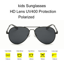 Kids Polarized Sunglasses Boys Girls Baby Child 90's Pilots Sun Glasses Goggles 2017 Trend Aviator Glasses Brand Children Shades