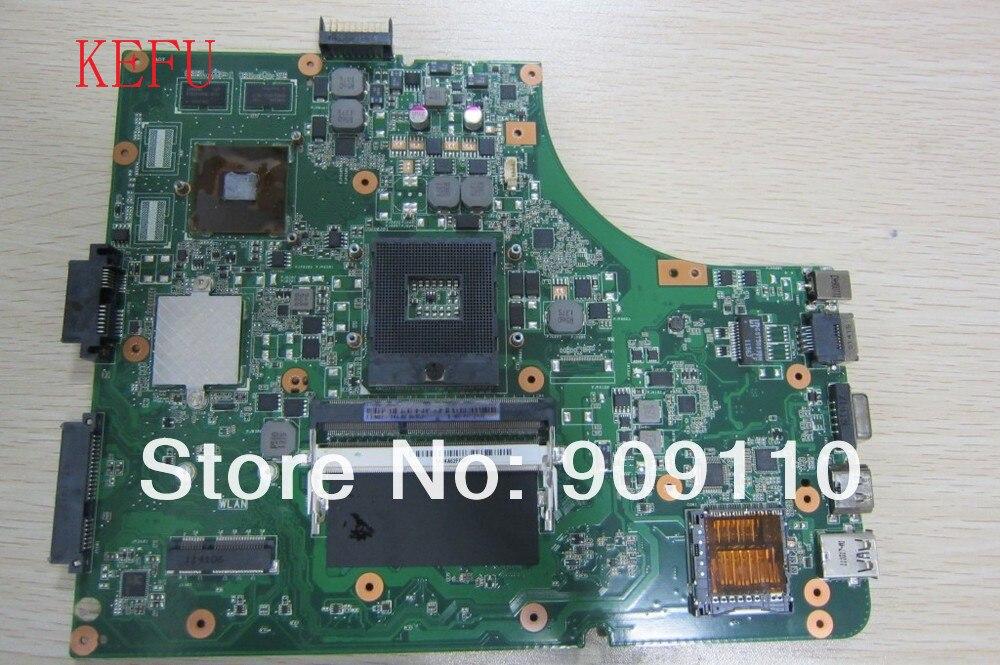 KEFU para la NUEVA placa base para computadora portátil K53SV de 1GB REV: 3.0 / 3.1 / 2.3 / 2.1 GT520M apta para ASUS K53S A53S X53S P53S K53SJ K53SC Notebook