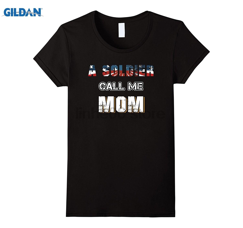 Возьмите Для женщин-солдат Call Me мама-подарок на День Матери Горячие Для женщин Футболка Горячая Для женщин футболка