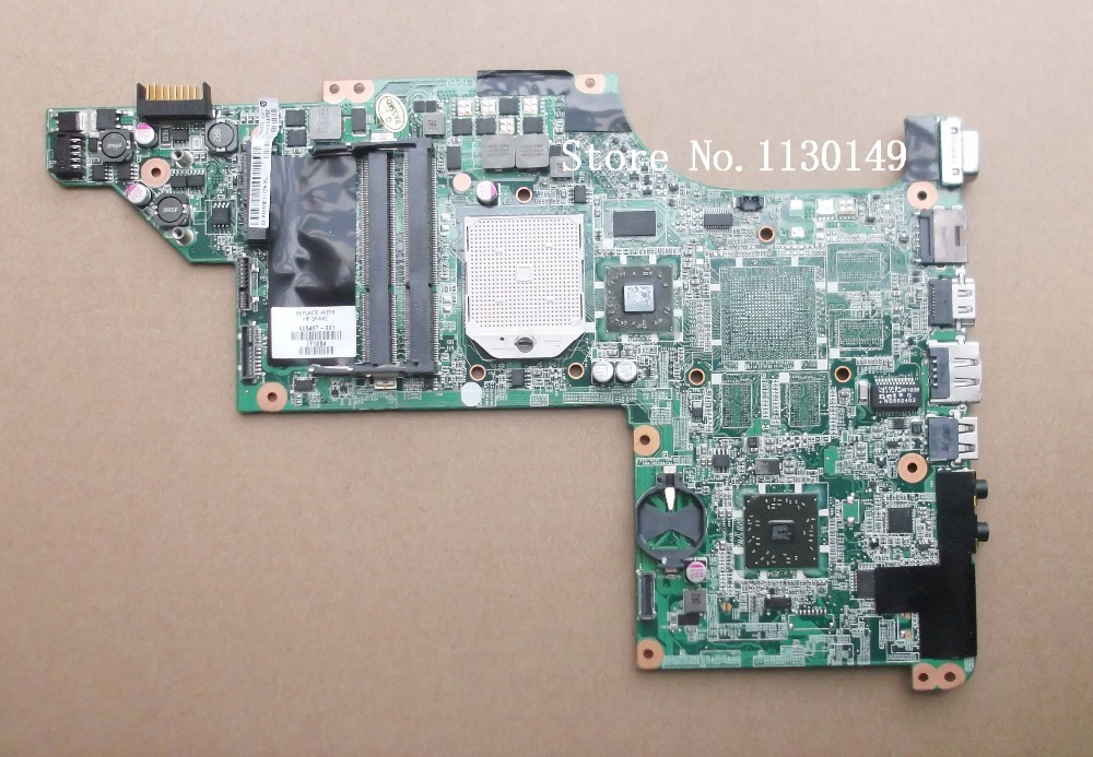 ФОТО 605496-001 Free Shipping for HP Pavilion DV7-4000 laptop motherboard DV7-4053CL  DA0LX8MB6D0  DA0LX8MB6D1 100% Test ok