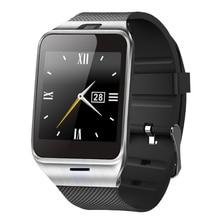 Gv18 smart watch bluetooth tragbare gerät unterstützung sim-karte pedometer reloj inteligente smartwatch für ios android pk u8 a1 dz09