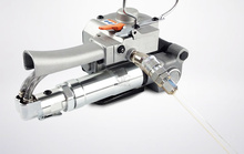 Czułość A19 pneumatyczne maszyna pakująca ręcznie pasek klamra darmo PET PP automatyczna wiązarka pasa pakowania topliwe