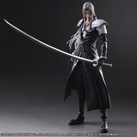 Paly Play Arts Kai Final Fantasy VII 7 Sephiroth PVC Action Figure Squall Leonhart Gunblade Figure Collectible Model Toy