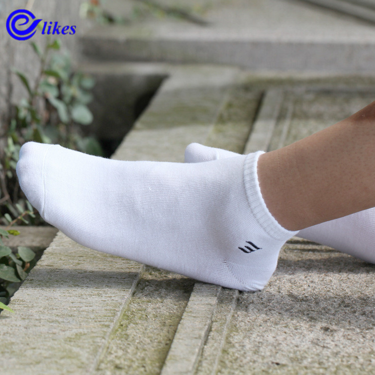3pair Solid Color 3d Men Invisible Mens cotton Ankle Socks Summer Compresion Socks Boat Sock man male sox big size EU39-44