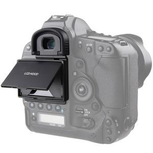 Image 2 - 2in1 lcdスクリーンプロテクターポップアップ太陽シェードフードカバーキヤノン1dx/1dxマークii