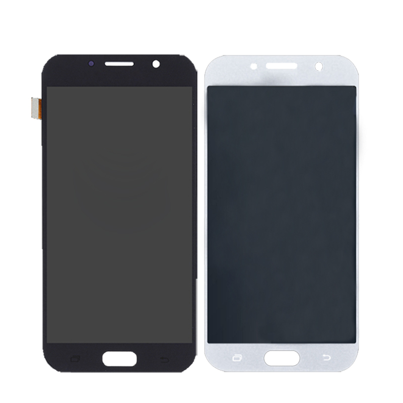Image 2 - AMOLED for Samsung Galaxy A7 2017 A720 A720F SM A720F LCD Digital Converter Glass Panel Mobile Phone Accessories Free Shipping-in Mobile Phone LCD Screens from Cellphones & Telecommunications