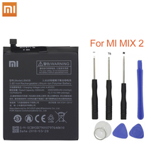 Xiao Mi Battery BM3B For Xiaomi MIX2 Replacement Battery  3300mAh High Capacity Original Phone Batteries+Tools original xiaomi bn32 replacement battery for xiaomi bn32 authentic phone batteries 3300mah
