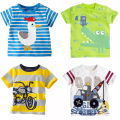 Spring 2016 cartoon kids clothes boys girls t shirt children's baby toddler boy clothing spring autumn cotton long sleeve tops