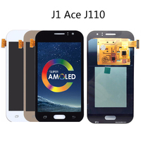 4.3inch ORiginal AMOLED LCD For Samsung Galaxy J1 Ace Lcd J111 J111H J111F J110M Display touch screen assembly