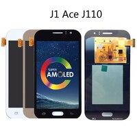 4.3inch ORiginal AMOLED LCD For Samsung Galaxy J1 Ace Lcd J111 J111H J111F J110M Display touch screen assembly