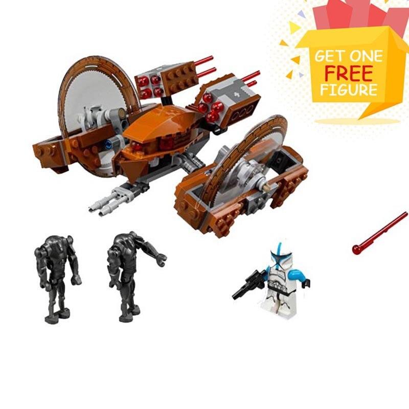 Bela Pogo Compatible Legoe Star Wars 10370 Attack Of Clones Hailfire Droid Exclusive Building Blocks Bricks toys for children