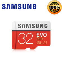 SAMSUNG Memory Card EVO Plus 64GB 128GB 32GB Class10 TF Card 256GB Micro SD card C10 microSDXC microSD UHS-I U3 Free Shipping