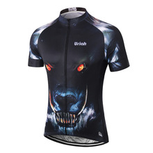 URIAH Men's Maillot Cycling Jersey Reflective Bike Clothing MTB Sports Jerseys Race Fit Cycling Shirt Downhill Indonesia Jersey
