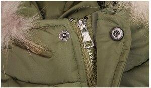 Image 4 - 4 ~ 15 세 어린이 소년 겨울 자켓 패션 디자인 소년 겨울 파카 면화 패딩 모피 후드 어린이 따뜻한 코트 겉옷