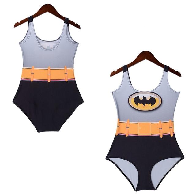 Maillot De Bain Une-pièce Femme Super Hero Batman