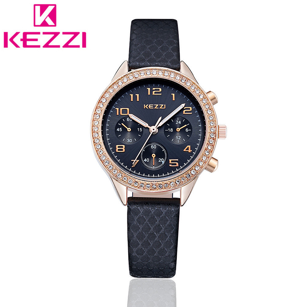 KEZZI K1059 Brand Fashion Women Wristwatch Ladies Luxury Casual Quartz Watch Relogio Feminino Gift KZ75