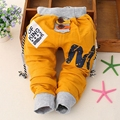 Spring Autumn Boys Letter Print Casual Baby Kids Trousers 100% Cotton Pants Full Length ropa bebe