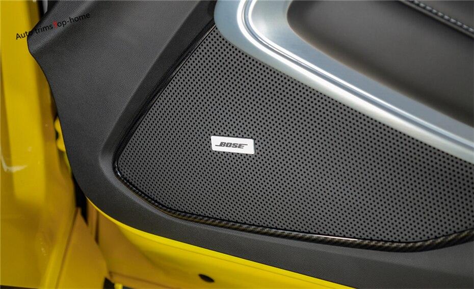 100% Kwaliteit Yimaautotrims Voor Chevrolet Camaro 2016 2017 2018 Abs Auto Deur Stereo Speaker Audio Sound Frame Interior Mouldings Cover Trim Zonder Terugkeer