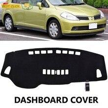 Xukey – couverture de tableau de bord, pour Nissan Versa Tiida C11 2007 2008 2009 2010 2011